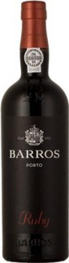 Portské víno červené - Porto Barros Ruby Portugalsko, obj. 0,75 L , Alk. 20 % obj.