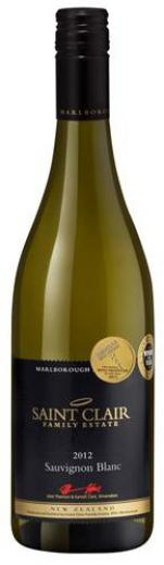 Sauvignon Blanc 2014 Saint Clair Premium Marlborough, obj. 0,75 L, Alk. 13 % obj.