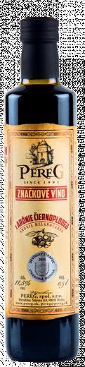 Arónia - Víno z Arónie čiernoplodej Vinárstvo Pereg, obj. 0,5 L., Alk. 11,5 % obj.