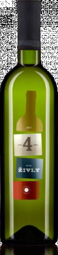 4 Živly Biele 2013 Karpatská Perla Neskorý Zber Cuvée, obj. 0,75 L., Alk. 12.5 % obj