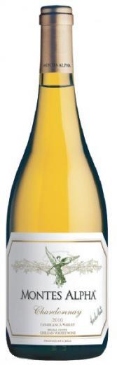 Chardonnay 2010 Montes Alpha vino Čile - Chile Casablanca Valley, obj. 0,75 L , Alk. 14 % obj.