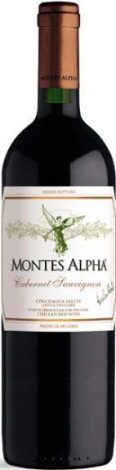 CABERNET SAUVIGNON Montes Alpha Vino Čile - Chile, obj. 0,75 L, Alk 14% obj.