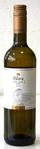 Pálava 2 Elesko vinárstvo AOV, obj. 0,75 L. Alk 12 % obj.