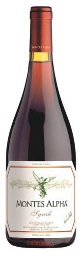 SYRAH Montes Alpha vino Čile - Chile, obj. 0,75 L, Alk. 14,5 % obj.