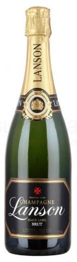Lanson Champagne Black Label Brut France, obj. 0,75L. Alk. 12 % obj.