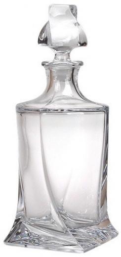 Quadro WHISKY FĽAŠA 0,85 l Crystalite Bohemia Crystal