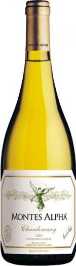 Chardonnay 2009 Montes Alpha Vino Čile - Chile