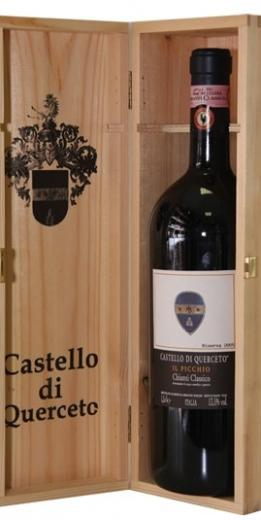 Chianti Classico II Picchio Castello Di Querceto Toscana Box obj. 1,5 L Alk. 13,5 % obj.