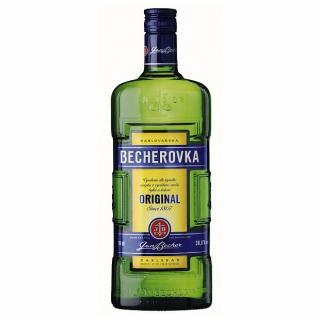 Becherovka original  Jan Becher obj. 0,5 L, Alk. 38 % obj.