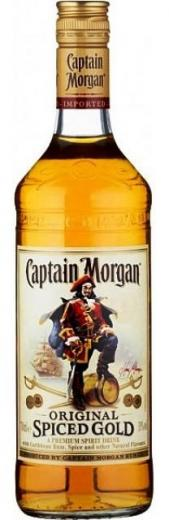 CAPTAIN MORGAN Original spiced gold with Caribbean Rum
