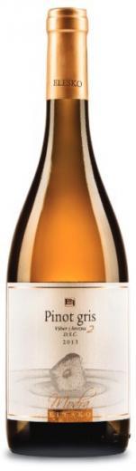 PINOT GRIS - Rulandské šedé 2013 ELESKO vinárstvo Výber z Hrozna