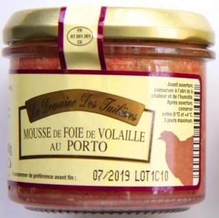 VYPREDANÉ - FRANCÚZSKA  PAŠTÉTA z kuracích pečienok s portským vínom 90g, sklo