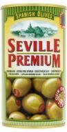 OLIVY zelené s papričkou SEVILLE PREMIUM Španielsko 350g, obj. 370 ml.