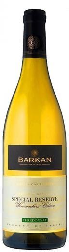 VYPREDANÉ - CHARDONNAY BARKAN WINES  2013 Special Reserve Kosher, obj. 0,75 L, Alk. 13 % obj.