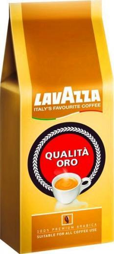 KÁVA ZRNKOVÁ COFFEE LAVAZZA Qualitá ORO 500 g 100% Arabica Italia