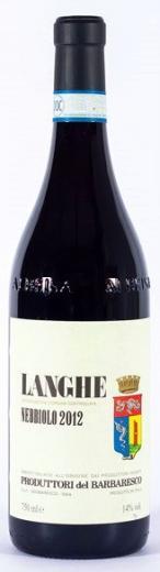 Nebbiolo di Langhe 2013 Produttori Del Barbaresco Piemont, obj. 0,75 L, Alk. 13 % obj