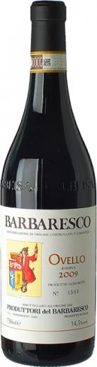BARBARESCO OVELLO Produttori del Barbaresco Piemont DOCG, obj. 0,75 L, Alk. 14.5 % obj.