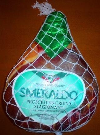 Prosciutto Crudo - Sušená šunka - Sagionato Smeraldo 7 kg