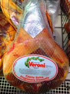 PROSCIUTTO CRUDO Veroni sušená šunka 5 - 6 mesiacov chladená 7kg