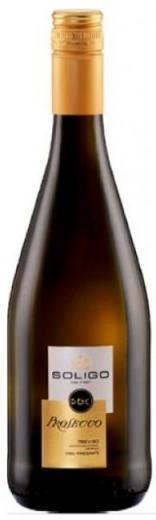 PROSECCO Soligo Frizzante víno biele šumivé, obj. 0,75 L , Alk. 11 % obj.
