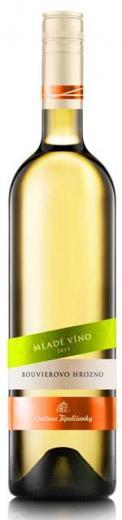 VYPREDANÉ - BOUVIEROVO HROZNO Mladé víno Chateau Topoľčianky polosuché biele, obj. 0,75 L, Alk. 12 % obj.
