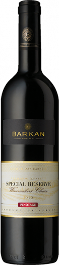 PINOTAGE Barkan Special Reserve Winemakers Choice, obj. 0,75 L, Alk. 13.5 % obj.