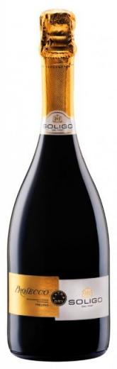 PROSECCO Soligo Frizzante víno biele šumivé DOC, obj. 0,75 L., Alk. 11 % obj.