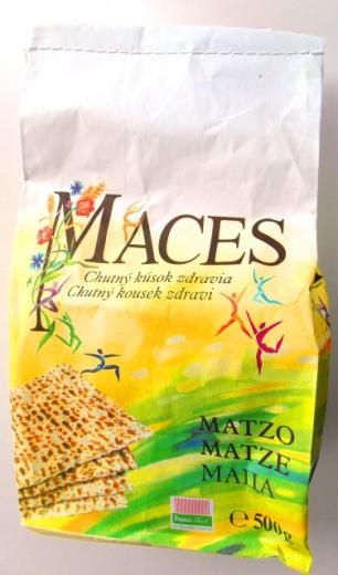 MACES bezkvasové pečivo - chlieb 500g