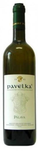 PÁLAVA Pavelka vinárstvo výber z hrozna, obj. 0,75 L., Alk 12.5 % obj.