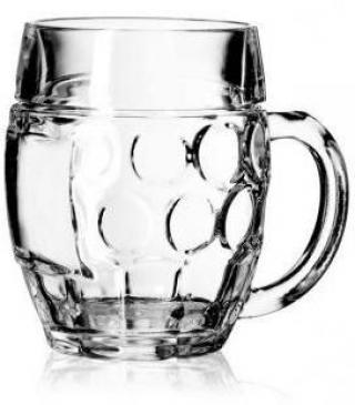 Pohár na pivo Tubinger 0,3 L s ryskou