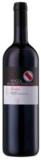 GEREMIA Toscana  Rocca di Montegrossi, obj. 0,75 L., Alk. 14,5 % obj.