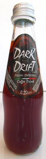 Dark Drift nealko sýtený kávový nápoj, Taliansko, 0,25 L.