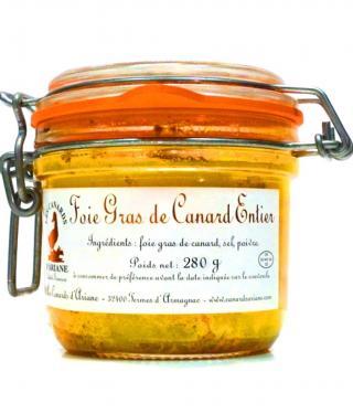 Foie Gras de Canard Entier Ariane Kačacia pečeň v masti 280g