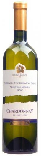 CHARDONNAY PD Mojmírovce DSC suché víno biele, obj. 0,75 L, Alk. 13 % obj.